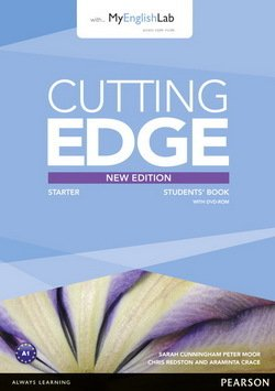 Cutting Edge (3rd Edition) Starter Student's Book with with Class Audio & Video DVD & MyLab Internet Access Code ISBN: 9781447962250