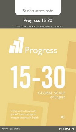 Progress Integrated Skills Test Student Internet Access Card Starter - A1  Beginner (15-30 Global Scale of English)