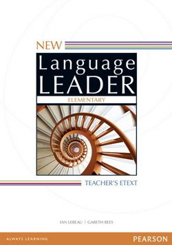 New Language Leader Elementary Teacher's eText on DVD-ROM for Interactive Whiteboard (IWB) ISBN: 9781447988632