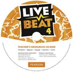 Live Beat 4 Teacher's Resources CD-ROM ISBN: 9781447990642