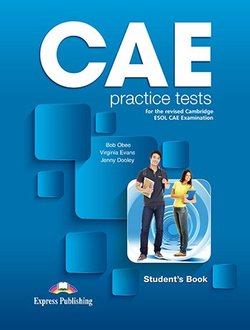 CAE Practice Tests Student's Book with Digibooks App ISBN: 9781471579554