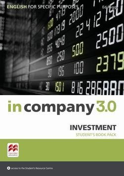In Company 3.0 ESP Investment Student's Pack ISBN: 9781786328861