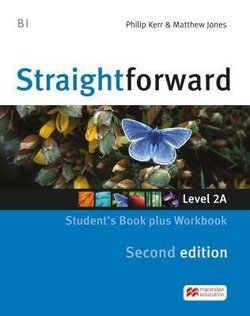 Straightforward (2nd Edition - Combo Split Edition) 2 (B1 / Pre-Intermediate) 2A Student's Book & Workbook with Workbook Audio CD ISBN: 9781786329943