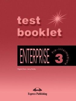Enterprise 3 Pre-Intermediate Test Booklet with Answer Key