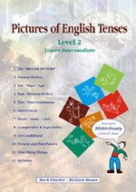 Pictures of English Tenses 2 (Lower Intermediate) ISBN: 9781898295525