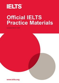 Official IELTS Practice Materials with Audio CD ISBN 9781906438463