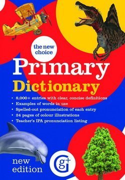 The New Choice Primary Dictionary ISBN: 9781910965306