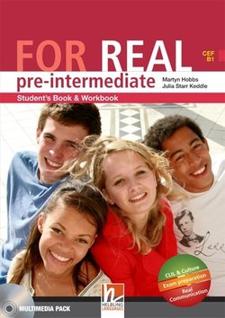 FOR REAL Pre-intermediate Student's Pack (Student's Book / Workbook with CD-ROM/Audio CD with LINKS & LINKS Audio CD) ISBN: 9783852722405