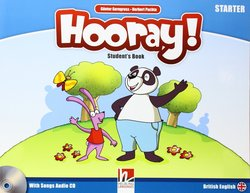 Hooray! Let's Play! Starter Student's Book with Audio CD ISBN: 9783852724447