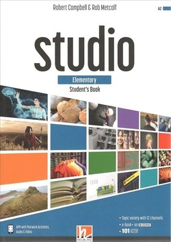 STUDIO Elementary Student's Book with e-Zone ISBN: 9783990459058