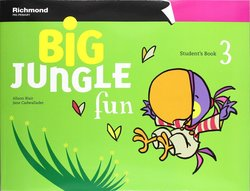 Big Jungle Fun 3 Student's Book with Stickers, Pop Outs & MultiROM ISBN: 9788466813235