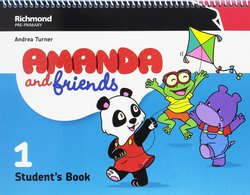 Amanda and Friends 1 Student's Book Pack ISBN: 9788466829250