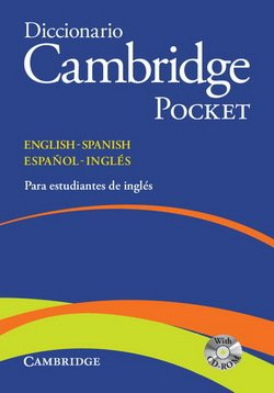 Diccionario Bilingue Cambridge Pocket Spanish-English with CD-ROM ISBN: 9788483234785
