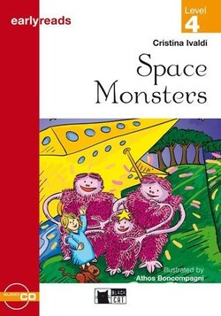 BCER4 Space Monsters Book with Audio CD ISBN: 9788877544650