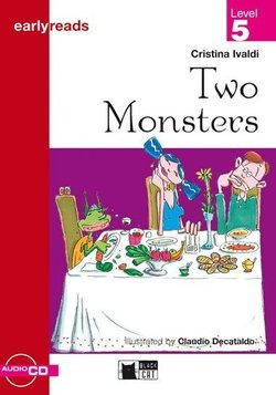 BCER5 Two Monsters Book with Audio CD ISBN: 9788877544742