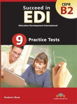 Succeed in EDI B2 (JETSET 5) Practice Tests Student's Book  ISBN: 9789604133895