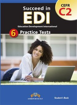 Succeed in EDI C2 (JETSET 7) Practice Tests Self-Study Edition (Student's Book, Self Study Guide & MP3 Audio CD)  ISBN: 9781781641194