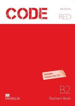Code Red B2 Teacher's Book with Test CD-ROM  ISBN: 9789604473151
