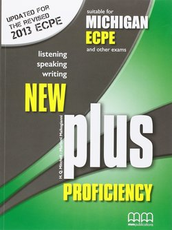 New Plus Michigan Proficiency ECPE Student's Book ISBN: 9789605731908