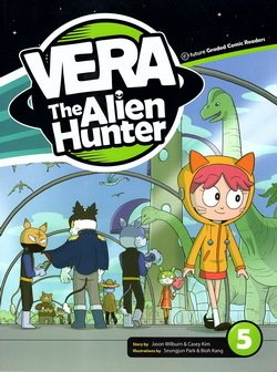 EGCR Vera The Alien Hunter 5; Luca's Leaving, A Visitor for Luca, Vera the Hunted with MP3 Audio CD ISBN: 9791156801153