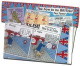 The How to be British Tea Towel ISBN: 5055361501173