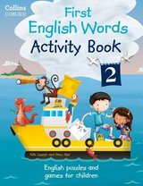 Collins First English Words Activity Book 2 ISBN: 9780007523122