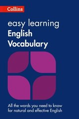 Collins Easy Learning English Vocabulary (2nd Edition) ISBN: 9780008101770