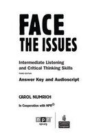 Face the Issues Answer Key ISBN: 9780131992191