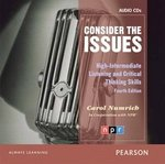 Consider the Issues Class Audio CDs ISBN: 9780132314909