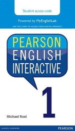 Pearson English Interactive 1 (A1 / Beginner) Student Online Version - International English (Internet Access Card) ISBN: 9780133832716