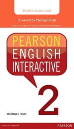 Pearson English Interactive 2 (B1 / Pre-Intermediate) Student Online Version - International English (Internet Access Card) ISBN: 9780133833003