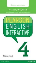 Pearson English Interactive 4 (B2 / Upper Intermediate) Student Online Version - International English (Internet Access Card) ISBN: 9780133833027