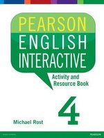 Pearson English Interactive 4 (B2 / Upper Intermediate) Activity & Resource Book ISBN: 9780133835373