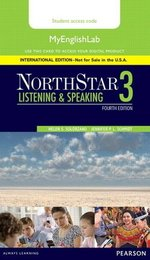 NorthStar (4th Edition) Listening & Speaking 3 MyEnglishLab Internet Access Card ISBN: 9780134078274