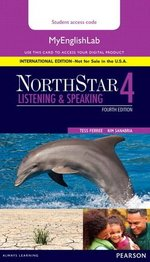 NorthStar (4th Edition) Listening & Speaking 4 MyEnglishLab Internet Access Card ISBN: 9780134078281