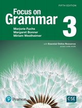 Focus on Grammar (5th Edition) 3 Intermediate Student Book with Essential Online Resources & Workbook ISBN: 9780134645254