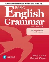 Basic English Grammar (4th Edition) Student's Book with MyEnglishLab ISBN: 9780134661155