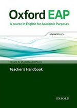 Oxford EAP (English for Academic Purposes) C1 Advanced Teacher's Book with DVD-ROM ISBN: 9780194001823