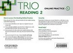 Trio Reading 2 Online Student's Internet Access Card ISBN: 9780194004015