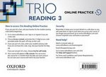 Trio Reading 3 Online Student's Internet Access Card ISBN: 9780194004046