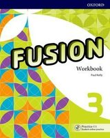 Fusion 3 Workbook Pack with Practice Kit ISBN: 9780194016490
