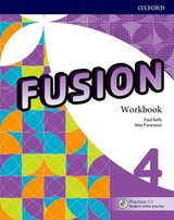 Fusion 4 Workbook Pack with Practice Kit ISBN: 9780194016506