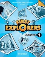 First Explorers 1 Activity Book with Online Practice ISBN: 9780194026284