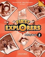 First Explorers 2 Activity Book with Online Practice ISBN: 9780194026345