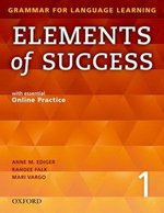 Elements of Success 1 Student Book with Online Practice ISBN: 9780194028202