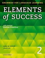 Elements of Success 2 Student Book with Online Practice ISBN: 9780194028233