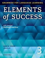 Elements of Success 3 Student Book with Online Practice ISBN: 9780194028264