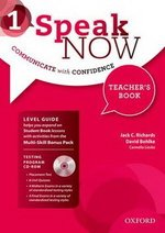 Speak Now 1 Teacher's Book with CD-ROM & Internet Access Card ISBN: 9780194030182