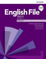 English File (4th Edition) Beginner Workbook with Key ISBN: 9780194031165