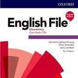 English File (4th Edition) Elementary Class Audio CDs (3) ISBN: 9780194031356